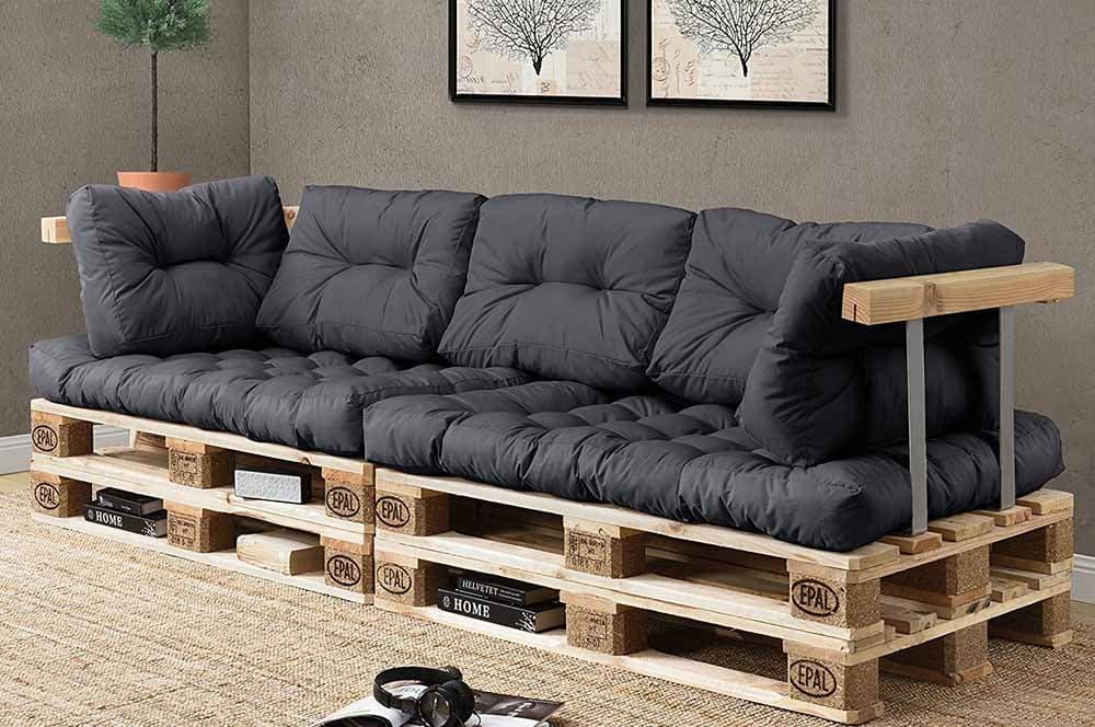cojines sofa de palets