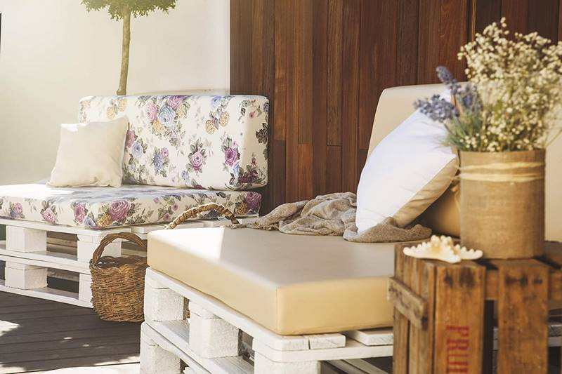 cojines para sofa de palet